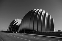 Northwest view of Kauffman Center